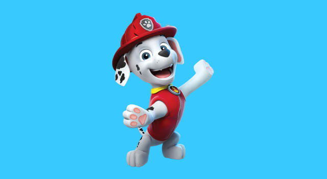 Marshall from Paw Patrol